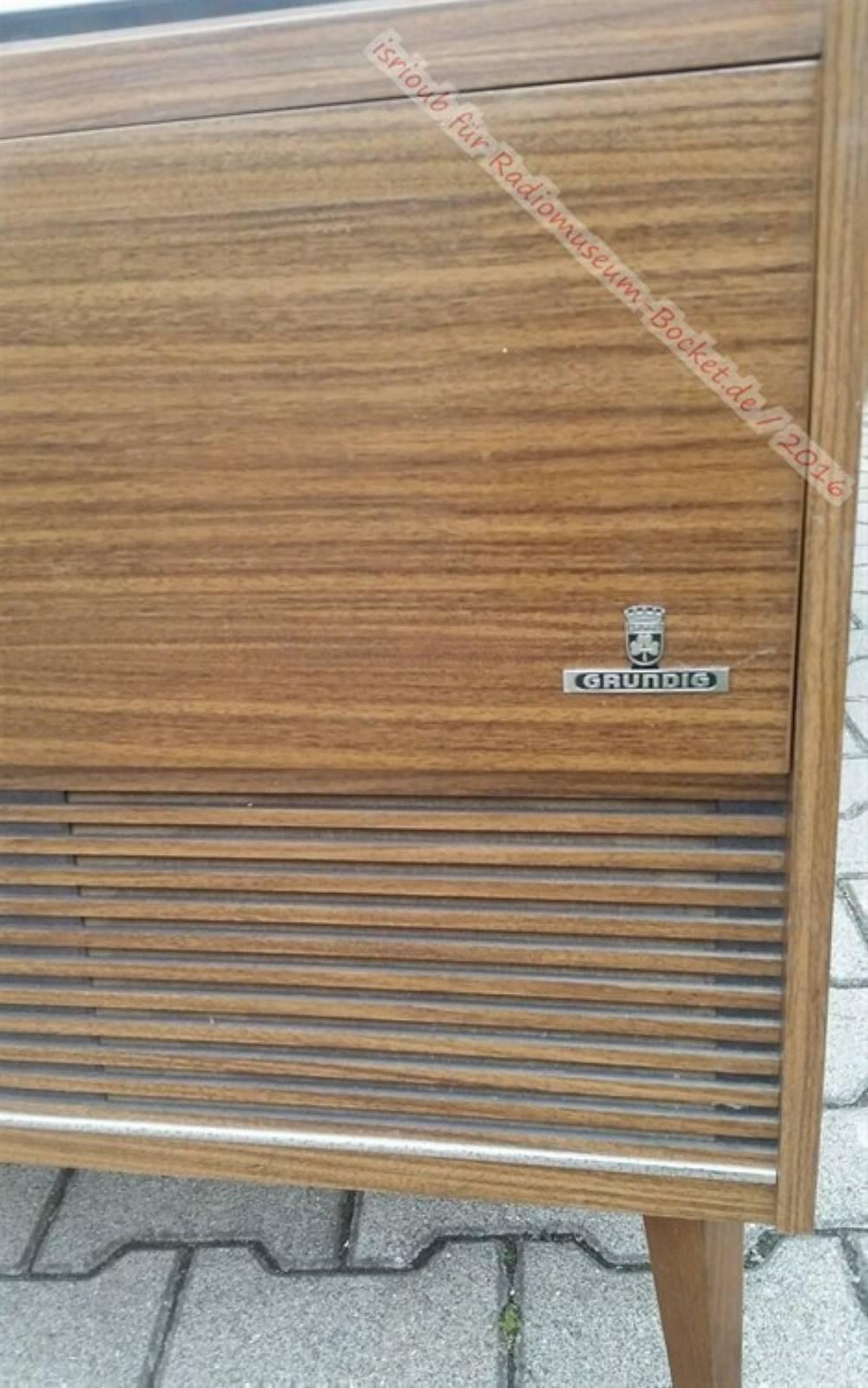 Grundig Stereo-Musikschrank Como 6 – Radiomuseum-bocket.de
